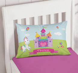 Pretty Heart Castle Pillowcase Cover