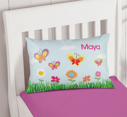 A Butterfly Field Cute Pillows For Girls