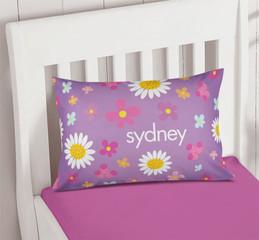 Purple Field Of Flowers Cute Pillows