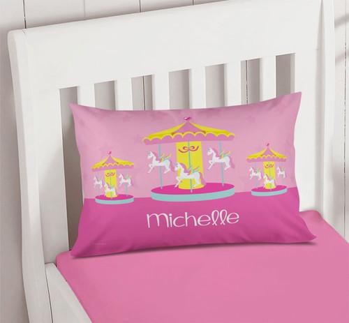 Sweet Carousel Pillowcase Cover