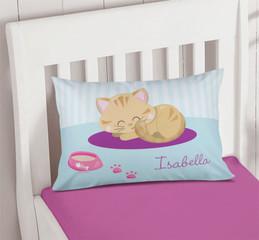 Cute Little Kitten Pillowcase Cover