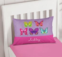Bright Butterflies Cute Pillows