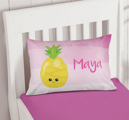 Yummy Pineapples Kids Pillow Cases