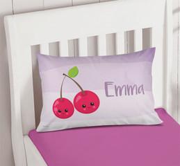 Yummy Cherries Kids Decorative Pillows