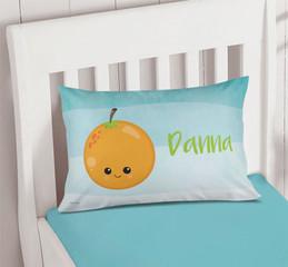 Yummy Oranges Pillowcase Cover