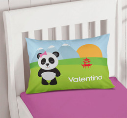 Sweet Panda Custom Printed Pillows