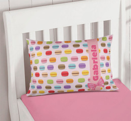 Yummy Macaroons Pillowcase Cover