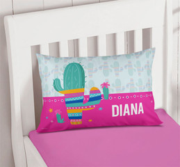 Colorful Cactus Pillowcase Cover