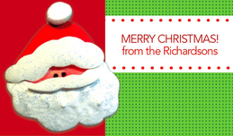 Hello Santa  Gift Tag
