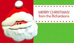Hello Santa Calling Card