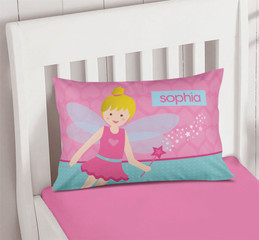 Fairy Girl Pillowcase Cover