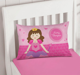 Cute Princess Pillowcase Cover