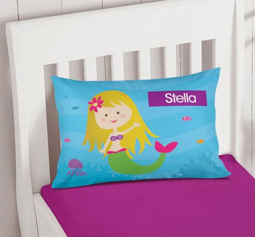 Cute Mermaid Pillowcase Cover