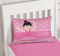 Sweet Ballerina Pillowcase Cover