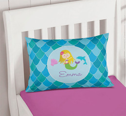 Mermaid Shades Pillowcase Cover