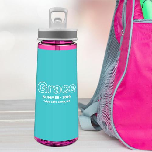 Modern Mint Sports Water Bottle
