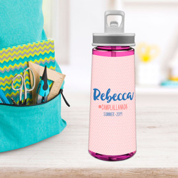 Cute Minimalist Name Sports Water Bottle