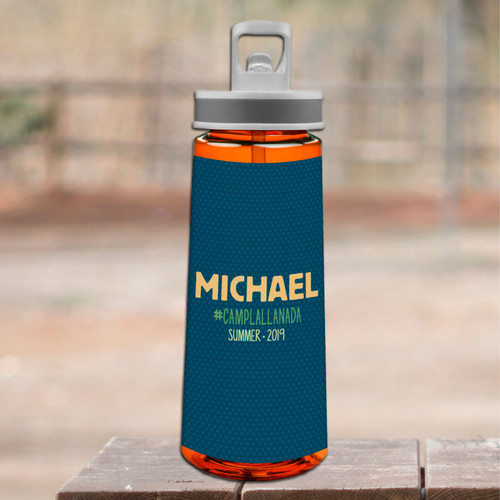 Midnight Green Camp Sports Water Bottle