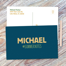 Midnight Green Postcards