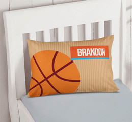 Basketball Fan Pillowcase Cover