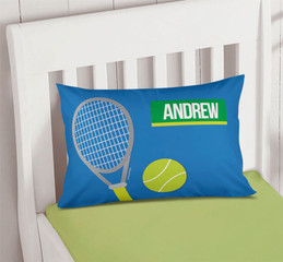 Tennis Fan Boy Pillowcase Cover