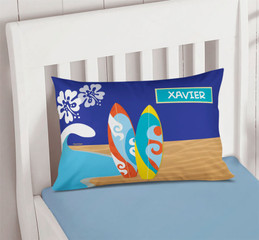 Surf the Waves Pillowcase Cover