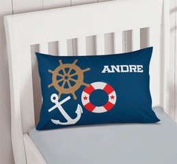 Nautical Ways Pillowcase Cover