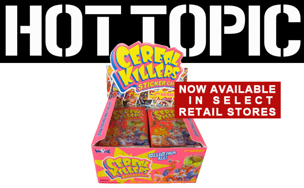 CEREAL KILLERS IN HOT TOPIC!