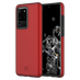 Incipio - Dualpro Case for Samsung Galaxy S20 Ultra - Iridescent Red and Black