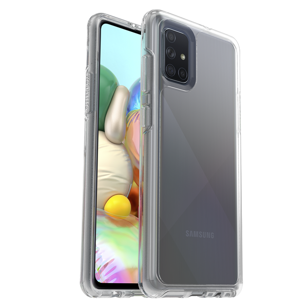 Otterbox - Symmetry Clear Case for Samsung Galaxy A71 - Clear