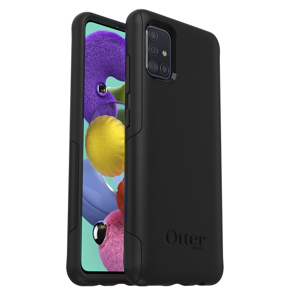 Otterbox - Commuter Lite Case for Samsung Galaxy A51 - Black
