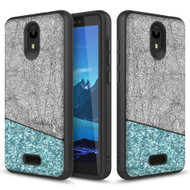 ZIZO DIVISION Alcatel Insight Case | Military-grade ProtectION and Heavy-duty Shock AbsorbtION | Designed for 2019 Alcatel Insight (Black/Mint) DVS-ALCINS-BKMT