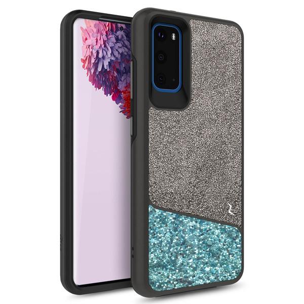 ZIZO DIVISION Series Galaxy S20 Case - Black & Mint DVS-SAMGS1162-BKMT