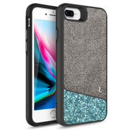 ZIZO DIVISION Series iPhone 8 Plus  iPhone 7 Plus, iPhone 6s Plus Case - Sleek Heavy-duty ProtectION in Modern Design Dual Layer Shock AbsorbtION 12 ft Drop ProtectION Magentic Plate - Black & Mint DVS-IPH7PLUS-BKMT