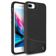 ZIZO DIVISION Series iPhone 8 Plus  iPhone 7 Plus, iPhone 6s Plus Case - Sleek Heavy-duty ProtectION in Modern Design Dual Layer Shock AbsorbtION 12 ft Drop ProtectION Magentic Plate - Nylon Black DVS-IPH7PLUS-NYBK