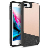 ZIZO DIVISION Series iPhone 8 Plus  iPhone 7 Plus, iPhone 6s Plus Case - Sleek Heavy-duty ProtectION in Modern Design Dual Layer Shock AbsorbtION 12 ft Drop ProtectION Magentic Plate - Saffiano Blush DVS-IPH7PLUS-SFBL