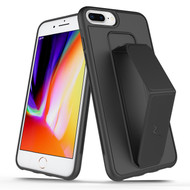 ZIZO GRIP Series iPhone 8 Plus  7 Plus, 6s Plus Case - Stealth Black GRP-IPH7PLUS-STBK