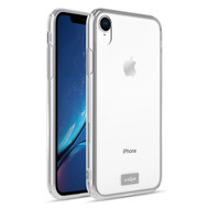 ZIZO REFINE Series iPhone XR Case Slim Clear with PC METALLIC Bumper Clear RFE-IPHXR-CL