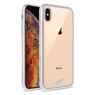 ZIZO REFINE Series iPhone XS Max Case Slim Clear with PC METALLIC Bumper Clear RFE-IPHXSMAX-CL