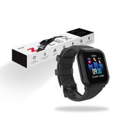 ZIZO ZFLEX Fitness Smartwatch- Fitness Tracker with Heart Rate Monitor and Blood Pressure Test (Black) WTH-ZFLEX-BLK