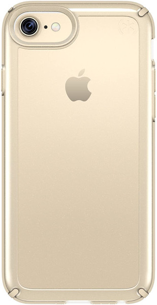 Apple iPhone 6 / iPhone 6s / iPhone 7 / iPhone 8 Speck Products Presidio Show Case - Clear And Pale Gold