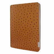 "Piel Frama 843 Tan Ostrich FramaSlim Leather Case for Apple iPad Pro 12.9"" (2020)"