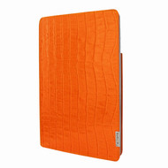 "Product - Piel Frama 824 Orange Crocodile FramaSlim Leather Case for Apple iPad Air (2019) / iPad 10.2"" (2019)"