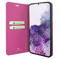Piel Frama 845 Pink FramaSlimCards Leather Case for Samsung Galaxy S20