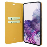 Piel Frama 846 Yellow FramaSlimCards Leather Case for Samsung Galaxy S20 Plus