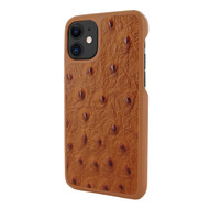 Piel Frama 838 Tan Ostrich LuxInlay Leather Case for Apple iPhone 11