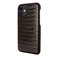 Piel Frama 838 Brown Lizard LuxInlay Leather Case for Apple iPhone 11