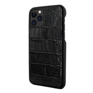 Piel Frama 835 Black Crocodile LuxInlay Leather Case for Apple iPhone 11 Pro Max