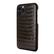 Piel Frama 835 Brown Lizard LuxInlay Leather Case for Apple iPhone 11 Pro Max