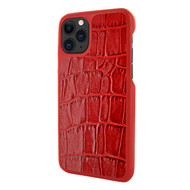 Piel Frama 832 Red Crocodile LuxInlay Leather Case for Apple iPhone 11 Pro